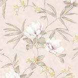 Fiore Wallpaper FO 3204 or FO3204 By Grandeco For Galerie